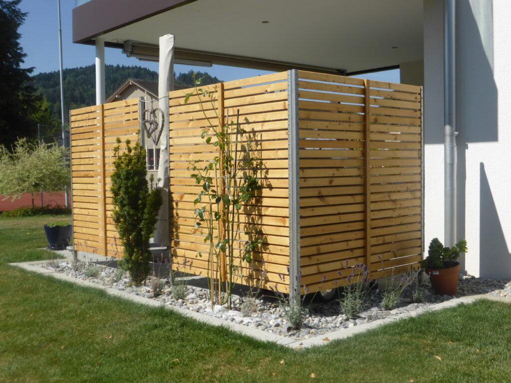 Sichtschutz Mit Larchenholz Lohnenswert